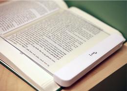 Venta al por mayor de alta calidad portátil LED de plexiglás Noche de envío Panel Junta libro LED del libro de lectura de luz LED panel de la cuña del libro del LED Luz libre desde plexiglás iluminadas proveedores