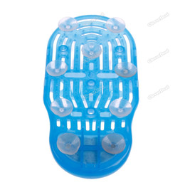 Wholesale cleverdeal Best choice Exfoliate Shower Foot Cleaner Scrubber Washer Bath Brush Spa Massager Slipper Top grade