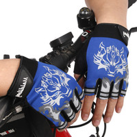 kids bike bicycle - Children Road Bike Gloves Breathable Riding Half Finger Mountain Bicycle MTB Cycling Gloves for Kids Boys Girls Sports Gloves