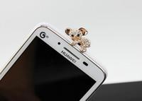 australian plug - Cute Australian Koala Rhinestone mm Anti Dust Plug Bling Diamond Charm For Smart Phone