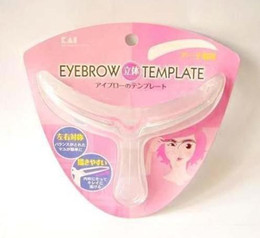 Wholesale kai Easy to Use Eyebrow Template Stencil