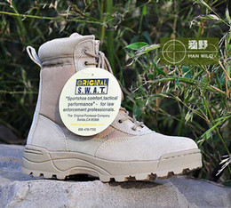 Wholesale New America Swat Men s Tactical Boots Autumn And Winter Desert Boots For Military Enthusiasts Marine Male Combat Shoes
