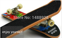 abs picture - ABS deck and alloy support multi good looking pictures professional indoor mini finger skate boarding