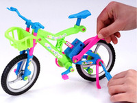 bicycle model kit - NEW ARRIVED COOL HOT SALE CHILDREN MODEL BUILDING KITS BIG SIZE MODEL BICYCLE