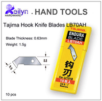 abs replacement blade - Tajima Hook Knife Replacement Blades Acrylic Board Cutter ABS Plexiglass cutting Plastic cutter LB70AH