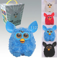 Wholesale latest design toys kids LED can sing and talk Russian language phoebe blue electronic teddy ferbi boom turnigy turtle beach new