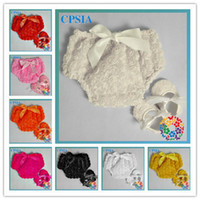 baptism baby outfits - SALE Ivory Baby Rosette Outfit includes Baby Bloomers amp Baby Shoes set Baby Baptism Wedding Newborn Underwear set