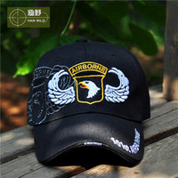 army airborne - US Army fans US st Airborne Division Outdoor tactics flat cap Baseball hat