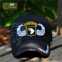 Wholesale-2015 US Army fans US 101st Airborne Division Outdoor tactics flat cap Baseball hat free shipping