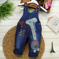 beauty overalls - Little Beauty Classic spring autumn children s denim overalls infant soft bib pants baby boy girl jeans casual trousers Y