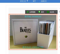 beatles box - The beatles The Beatles In Mono Box Set D limited edition fine white shipping boxes