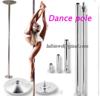 Cheap Wholesale-Stripper pole dance 360 Spin Professional Dance Pole Removable training pole X POLE Kit EASY Installation fedex ups FreeShipping
