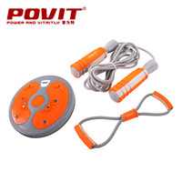 Wholesale Povit fitness sports set gift box candle holder grip pull rope