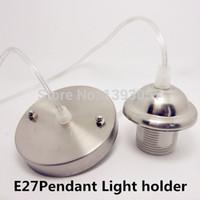 Cheap Wholesale-E27 pendant light lamp holder, E27 80cm cable socket base home lighting lamp DIY holder adapter