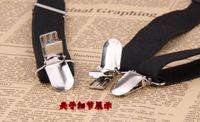 Wholesale cm Wide New Mens Womens Unisex Clip on Suspenders Elastic Y Shape Adjustable Braces Colors