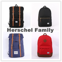 pocket books - Herschel Backpack Women Men Travel Hiking Laptop Herschel Rucksack School Book Bag sac a dos mochila masculina bolsa feminina