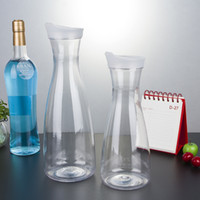 acrylic plastic cocktail shaker - Acrylic cocktail shaker juice pot rolling pot with lid water bottle bar supplies cold water pot plastic rolling pot transparent