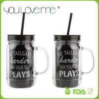 best drink bottles - 2015 BEST SELLING DOUBLE WALL AS SAN PLASTIC FRUIT JUICE DRINKING MASON JAR BOTTLE with free gift Free Shippng