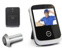 Mayor-Más nuevo monitor de teléfono inalámbrico espectador de la puerta Mirilla video de la puerta y del ojo de puerta del transmisor digital