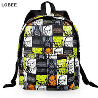 Wholesale Backpack For Boys Nylon STAR WARS Bags For Kindergarten Backpack Children Kids Party Gift Mochilas Infantil Cartoon W242