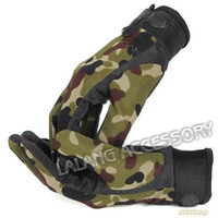active outdoor games - 1Pairs High Quality Outdoor Camping Military Tactical Gloves Sport Gloves Hunting Game Full Finger Gloves