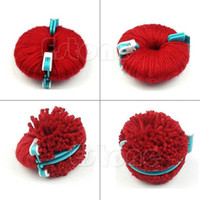 Wholesale Sizes Pompom Fluff Maker Ball Weaver Needle DIY Craft Knitting Wool Tool Set