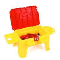 Wholesale Early Educational Kids Toys Multifunctional Tool Chair Set Birthday Gift Play Children Set Tools Ferramentas De Brinquedo HL8054