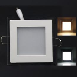 Mayor-Libre del envío 10W / 15W / 25W plexiglás llevó la Plaza panel rebajado techo de la pared Downlight AC85-265V blanco / caliente Iluminación de interior blanca desde plexiglás iluminadas fabricantes