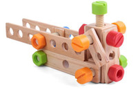 bench boys - Baby Toys Wooden Simulation Tool Toys Baby Educational Toys Multifunctional Work Bench Boy Toys Gift