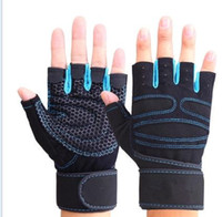bamboo mountain bike - New Hot Sell Fitness Gloves Dumbbell Bodybuilding Outdoor Multifunction Exercise Mountain Bike Riding Gloves
