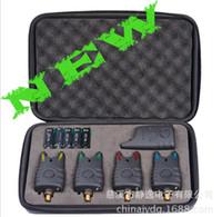 Wholesale New Listing Fishing Finder Set Fishing Wireless Electronic Alarm Kit Color JY LED Echo Sounder Ffw718 Bite