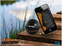 Wholesale Hot selling smart mobile phone fish finder Deeper smart fishfinder for iOS and Android device wireless fish finder