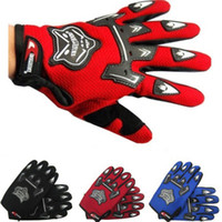 off road dirt bike - Adult Guantes Motorcycle Gloves Motorbike Motocross MX ATV Quad Dirt Trail Pit Bike BMX DH Off Road Downhill Summer Riding Glove