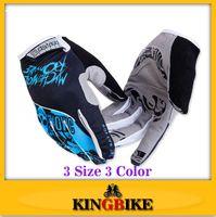 Wholesale Bat Fox FOX Running Sports Men Red Blue Green Racing Motor Cycling Gloves Full Finger