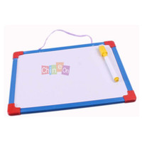 Wholesale x Mini Erasable Drawing Reminder Message Writing Tablet Wall Hanging Whiteboard