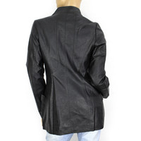 Where to Buy Womens Long Leather Coats Sale Online? Buy Leather