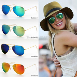 Wholesale On Sale Promotions Multi Colors Fashion classic Unisex Sunglasses Brand Designer Coating Ray Band Sunglass for Men Women PY92