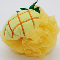 baby skin care products - Pineapple style baby products bath ball bath shower tool skin care products shower toy