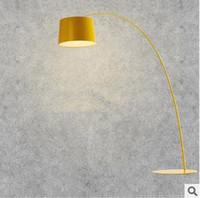 artistic floor lamps - Modern floor lamp for living room bedroom study bedside light brief floor lamp artistic studio tripod lamp lights E27 bulb