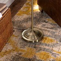 antique brass floor lamps - Antique Brass Vintage Sofa Floor Lamp Iron Floor Lighting Living Bedside Lamp Home Decor Light Fixtures