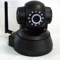Wholesale P2P IP Camera Night Vision CCTV Security WIFI Webcam IR LED Indoor Outdoor Pan Tilt Network Camera for Android IOS