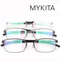 Wholesale brand New Mykita DAVID Titanium metal ultra light glasses frame eyeglasses memory spectacles