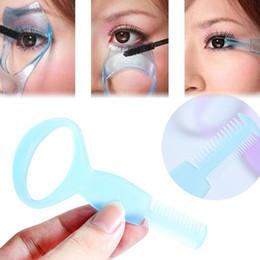 Wholesale Magic Beauty Triple Eyelashe Card Curler Makeup Brush Mascara Tools Eyelash Cosmetic Tool Color Random Drop Shipping MU