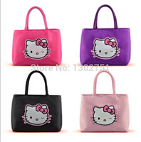 hello kitty tote bags - pc multifunction Hello Kitty mummy totes bag cartoon waterproof baby wet durable nappy diaper handbag newborn products