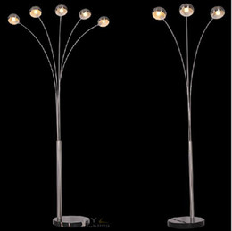 Wholesale-Modern Brief Europen Style Classic Floor Lamp geometry lamp stand for living room Lamparas de pie Standard Lamp 100% Guanrantee