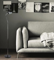 angle floor lamp - Modern Fashion Brief office home living room floor lamp lighting black marble metal floor light hose arm for angle adjustment