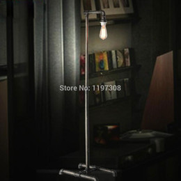 Wholesale Antique Vintage Sofa Floor Lamp Iron Floor Lighting Living Bedside Lamp Home Decor Light Fixtures lampadas