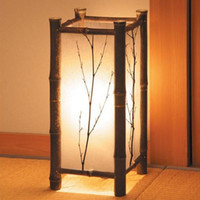 Wholesale high quality Room lights japanese style lamp tatami lamp bamboo lamp living room floor lamp t4 m