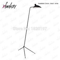 Wholesale hot sale serge mouille one arm marine tripod floor lamp