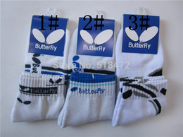 Wholesale Hot Original brand Men professional Butterfly table tennis SOCKS outdoor comfortable running socks good quality sport socks